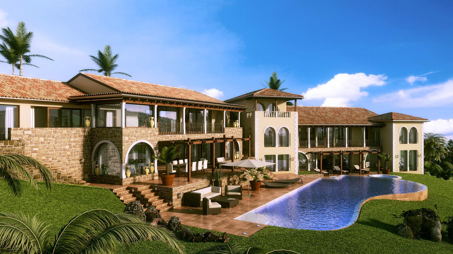 Luxusvilla  Luxusvilla am Meer - Entwürfe und Konzepte von MAB aus dem ...