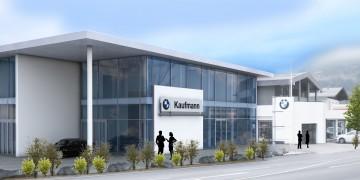 Ausstellungshalle Autohaus Kaufmann